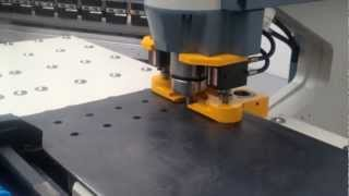 Heavy duty CNC Punching machine on Steelworker