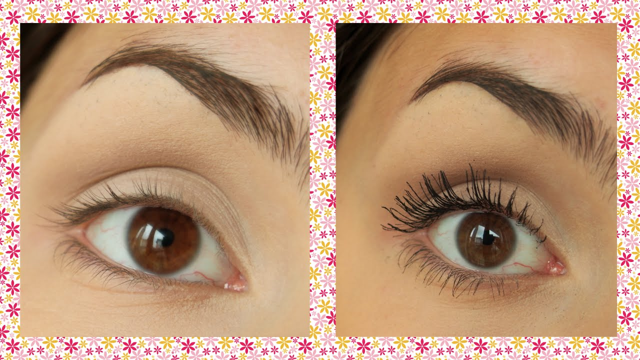 How To Make Your Natural Lashes Look Like False Lashes Youtube
