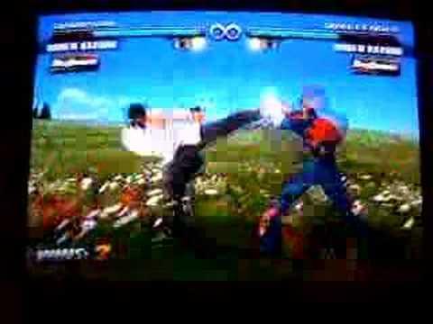 Saigon Tekken Paraguay 17: Kazuya_ CDE/hwo vs Jose Feng/ law