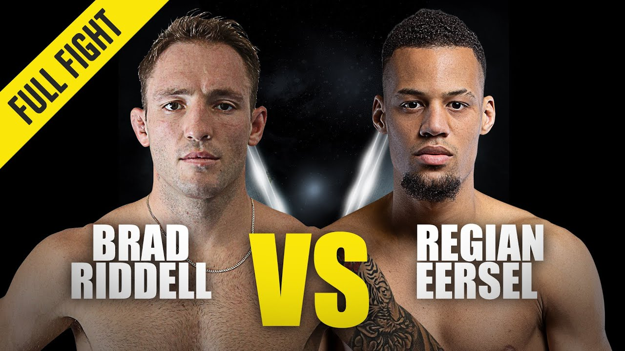 Brad Riddell vs. Regian Eersel | ONE Championship Full Fight | April 2018