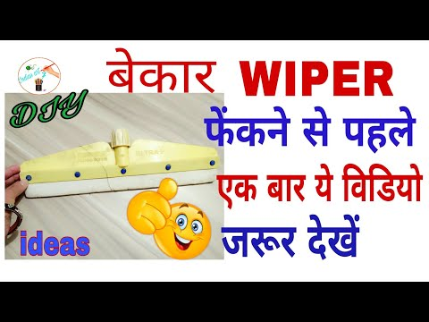 BEST Out of waste wiper craft idea and best use DIY Craft   DIY at home