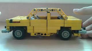 як зробити з лего машину жигулі