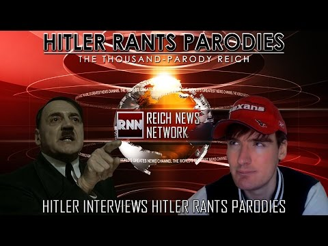 Hitler interviews Hitler Rants Parodies
