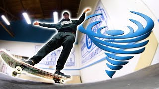 In this video Nigel learns how to do a Fakie Frontside 270 Feeble S...