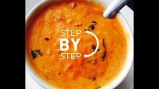 Roasted Tomato And Roast Garlic Bisque Recipe, How To Make Roasted Tomato Soup, Jan Charles