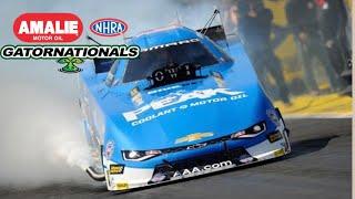 2017 NHRA Gatornationals | Funny Car Eliminations