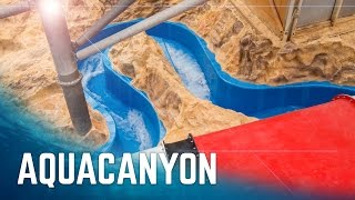 Aqualand Köln - AQUAcanyon Wildwasserfluss | Neue Rutsche 2016 Onride POV
