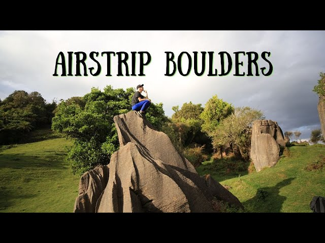 Climbing in New Zealand Part 2: Airstrip Boulders