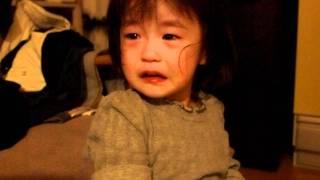 163 2歳2ヶ月赤ちゃん子供 眠くてワガママ 治まるまで 2years old baby kid