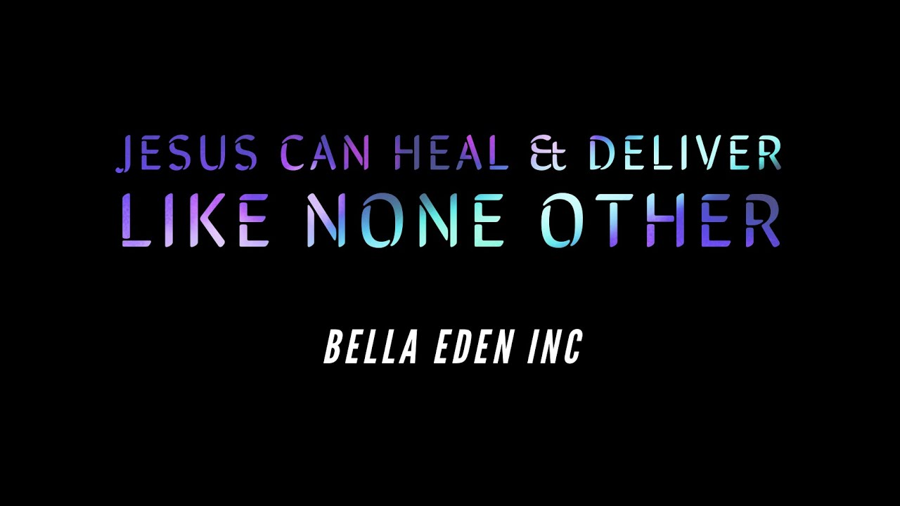 Jesus Can Heal & Deliver Like None Other | Chris Lopez