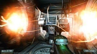 Doom 3 BFG Edition gameplay walkthrough [PC/Deutsch] #034: Teleporter 2: Die Besenkammer