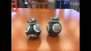 Star Wars Paper Craft: BB-9E from The Last Jedi