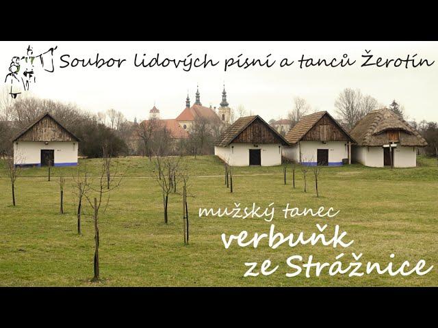SLPT Žerotín - Mužský tanec verbuňk ze Strážnice - Dominik Vajčner