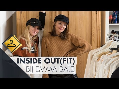 Emma Bale verbaast Paulien met haar HUGE kleerkast! l Inside Out(fit)