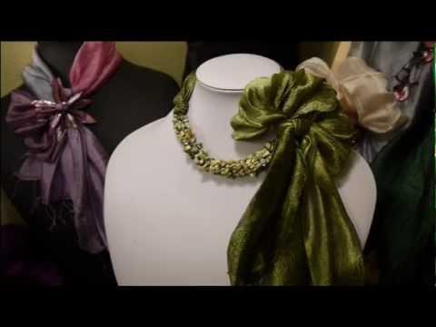 Diff rentes mani res de porter les foulards youtube - Differentes facons de porter un foulard ...
