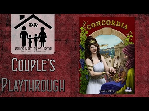 Concordia Couples Playthrough (Gameplay Overview, Runthrough & Review/Final Thoughts)