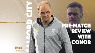 SALFORD CITY V LEEDS UNITED PREVIEW! | EDDIE AND COSTA TIME