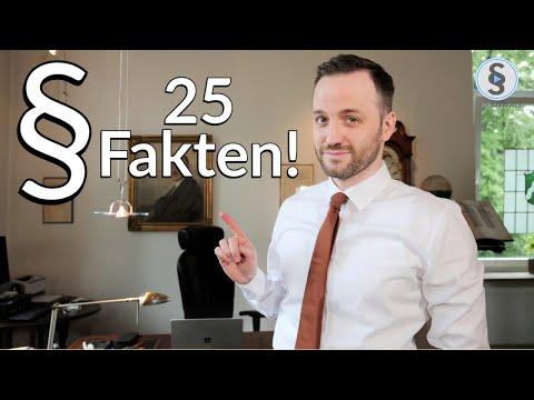 25 Fakten über Herr Anwalt - Wen würde ich gerne mal vertreten? Q & A