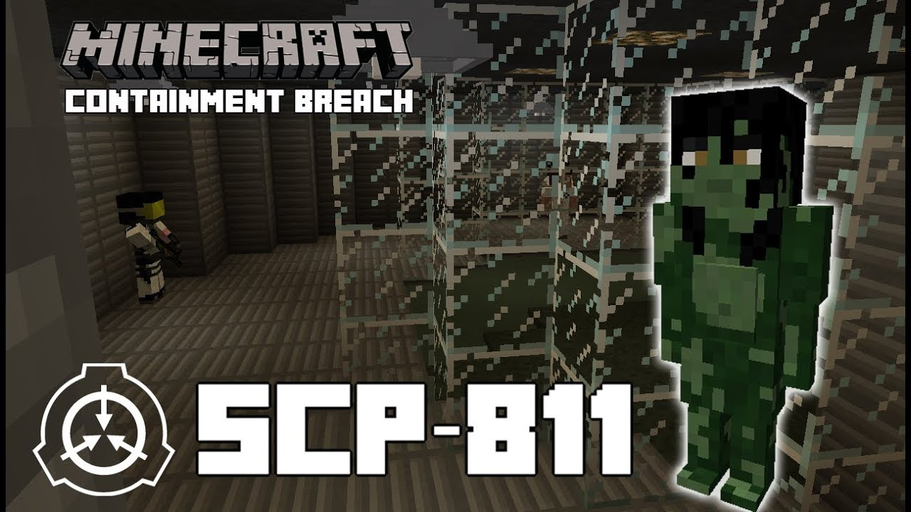 Minecraft SCP-811 Containment Breach! SCP [Swamp Woman]