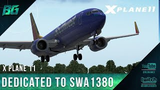 Dedicated to Southwest Flight 1380