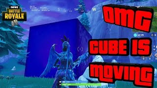FORTNITE CUBE IS MOVING WHERE IS IT GOING NEXT? FINAL LOCATION DUSTY DIVOT? Fortnite Battle Royale