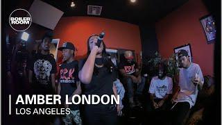 "Amber London - ""Low MF Key"" Boiler Room Rap Life LA"