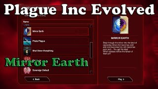 Plague Inc Evolved Scenario - Mirror Earth [Fungus]
