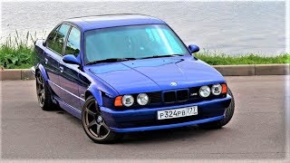 ОБЗОР BMW E34 M5
