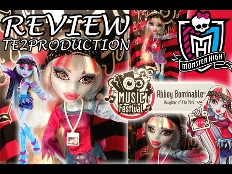 Review Monster High Music Festival Abbey Bominable
