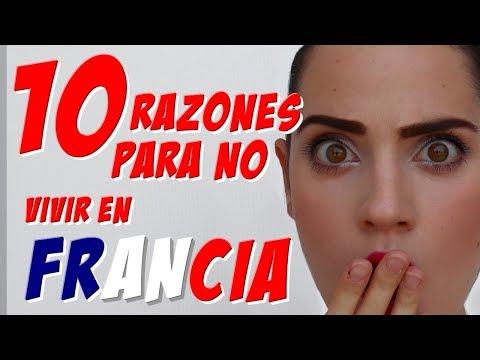 10 RAZONES para NO VIVIR EN FRANCIA - Mí experiencia