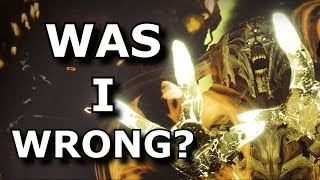Was I WRONG About Destiny 2? - (Ps4/Xbox One) Warmind DLC Review