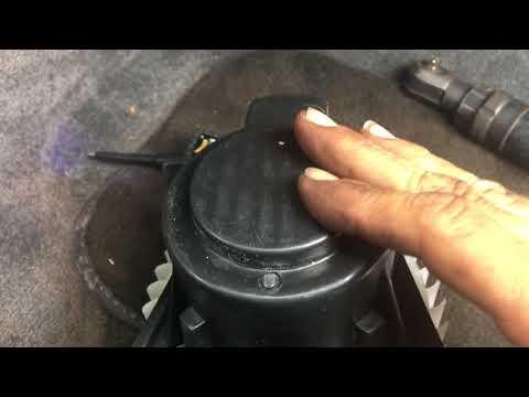 Volkswagen blower motor replacement