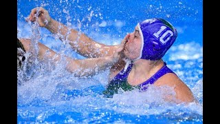 Italy vs France - Highlights - Waterpolo Women Olympic Qualification