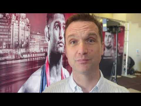 SKY SPORTS ANDY CLARKE BREAKSDOWN KHAN v LO GRECO & KHAN CHANCE OF WINNING WORLD TITLE AT 147LBS