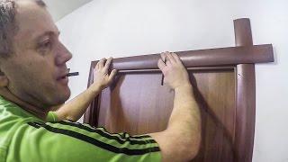 как сделать обналичку двери своими руками