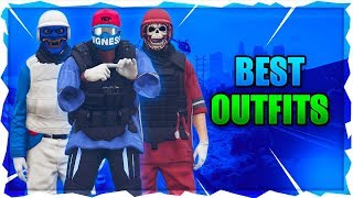 Top 3 Outfits of the Week In GTA 5! (White Joggers Outfit, Best RNG Outfit, Best Red Modded Outfit)