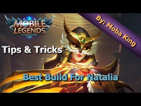 Mobile Legends Best Build For Natalia / Tips And Tricks
