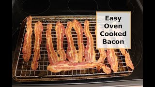 Easy Oven Cooked Bacon