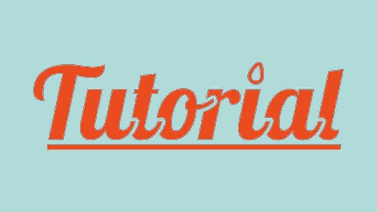 Illustrator Cs Cc Tutorial Editing Letters