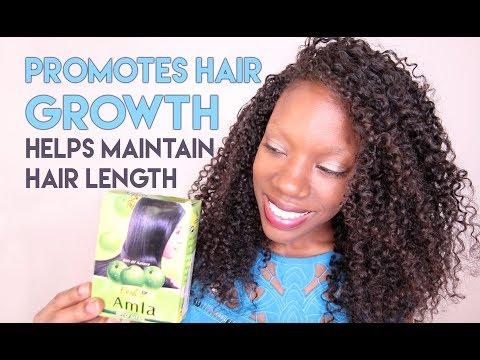 AMLA POWDER: HELPS MAINTAIN HAIR LENGTH