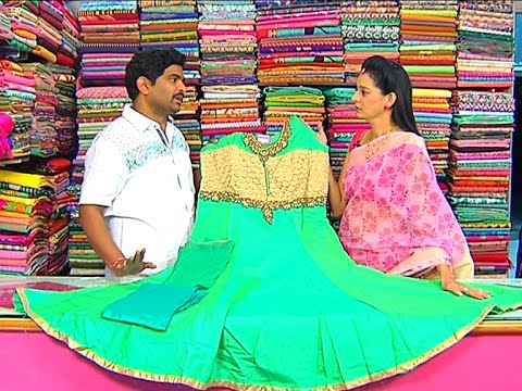 Beats Work Cut Model Anarkali Dress     New Arrivals    Vanitha TV