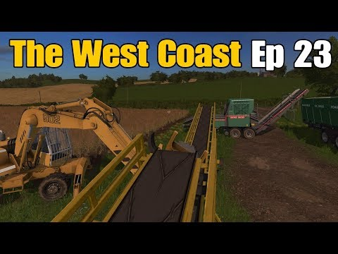 Let's Play Farming Simulator 17 PS4: The West Coast, Ep 23