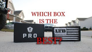 Lucky Tackle Box vs Mystery Tackle Box - November 2017 BATTLE OF THE BOXES