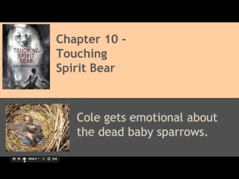 touching spirit bear characters
