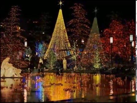 Christmas At Temple Square Salt Lake City, Utah November 30, 2015