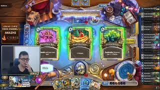 Hearthstone Arena - [Amaz] WOW! Golden Legendary!