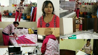 Indian Mom Morning Cleaning and dusting Routinehow to clean home,speed cleaning,Daily house cleaning