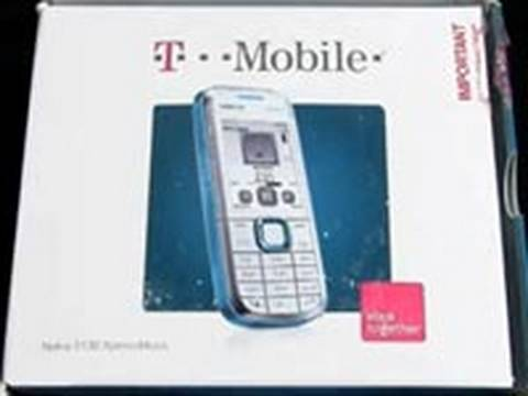 T-Mobile 5130 XpressMusic (Nokia) - Unboxing