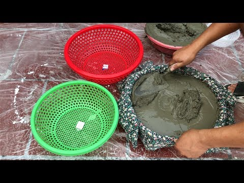 DIY - ❤️ CRAZY IDEA WITH CEMENT ❤️ - My Wife Does Not Like This -Mushroom pot