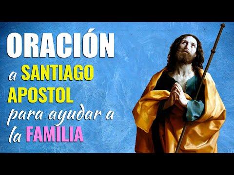 🙏 Oración a Santiago Apóstol para pedir AYUDA PARA LA FAMILIA 👨👩👧👦